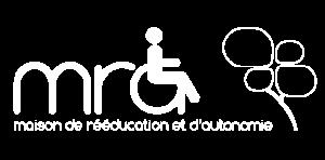 Maison de Rééducation et d'Autonomie - logo blanc
